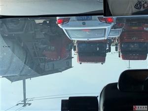 三块碑天天大货车占道,引起交通拥堵!每天都堵!