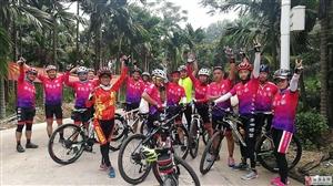 琼海市自行车协会组织骑行活动小记