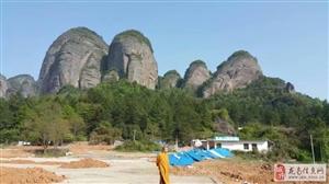 龙南县小武当佛光寺扩建筹备,发心越大,福报越大,功德越大。