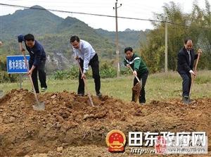 闹店镇农田节水灌溉工程项目建设国庆节不停工