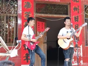 海南原创音乐人喜闹玉龙牛节