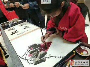孩子们的国画书法作品,欢迎给出诚恳建议。