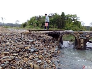 寻乌河角金星村一桥存在安全隐患,望有关部门关注!