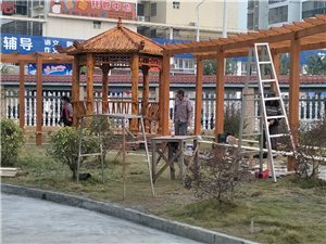 锦绣山河防腐木园林景观防腐木