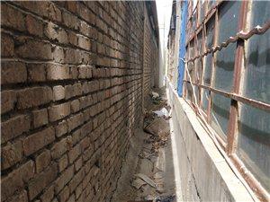 这是玉门老市区地税局院内的房子,这是阳台的地方,被后面一堵墙遮的严严实实的,一天基本上都见不到什么阳