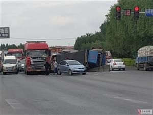 车管所南十字路口交通事故