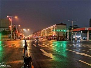 雨后平舆夜景,美得让人窒息