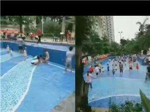 6.2在嘉�R城游泳池�e�k的�和��抓�~��水活��