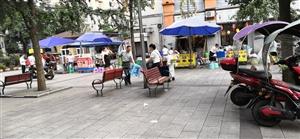 渝南明珠小区大门口出了一条商业街,还没人能管了,早中晚不停歇,让门市都没活路了呀