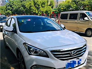 低价出售北京现代名图车
