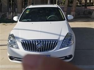 别克凯越白色2014年轿车出售