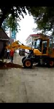 挖坑机立杆