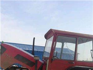 出售14年常发554.+大拖车。车斗