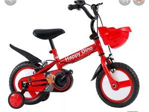 低价转让全新小龙哈彼自行车,适合3~6岁儿童骑