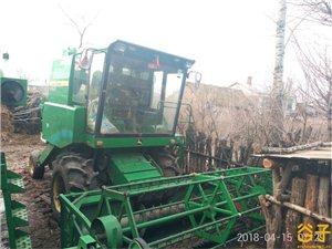 自家农用收割机