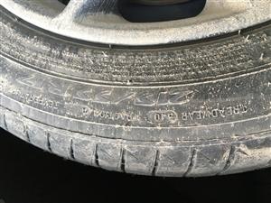 迈腾B8原厂轮胎