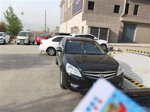 北京现代悦动,2010年9月上牌,手动带天窗