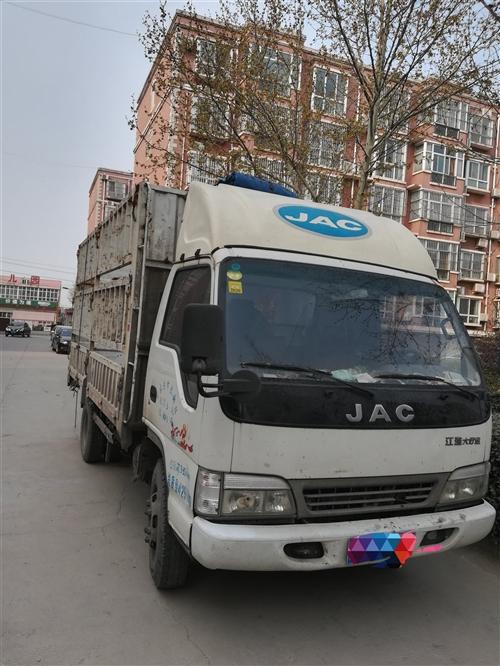 江淮4102,一手车刚审车