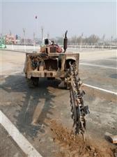 链条挖沟机