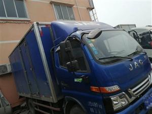 江淮V6    4.2米宽体箱货。精品车况,