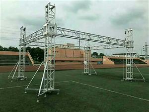 400×400铝合金桁架(目字方通)50米,400×400铝合金桁架升降系统一套。189295854...
