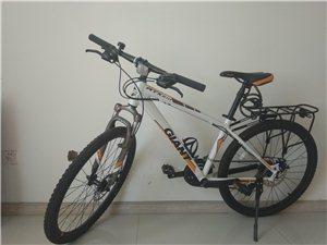 捷安特自行车21速,行驶不超过50公里,当时买它花了1300.实在没时间骑。
