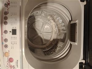 全自动洗衣机9成新,因搬家不想拿,所以出售,价格500元。18734263889