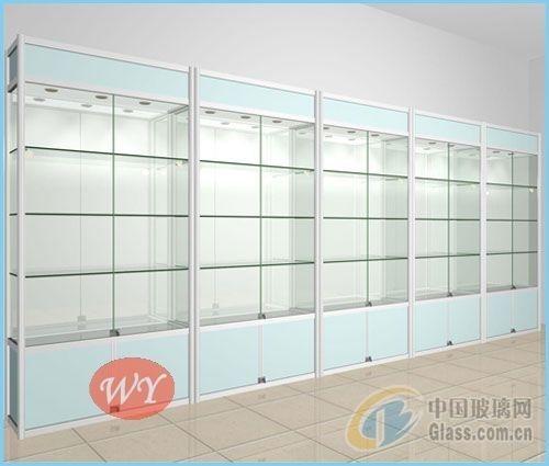 精品钛镁合金玻璃货架便宜处理!
