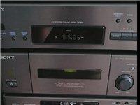 索尼组合音响,日本原产,cd有故障,其他功能正常,