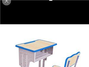 求购此类二手学生桌椅,七八成以上新,价格面议