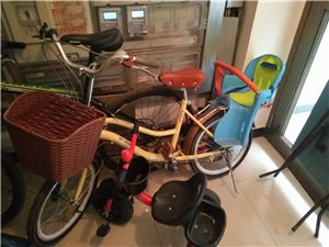女士自行车,带儿童座椅,买了有半年了,平常就是送娃娃上幼儿园。想买的就打电话吧??我忘记照相了183...