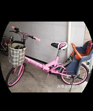 由于单位变动,现有八成新自行车出售,后边还有宝宝椅,买到就是赚到哟??