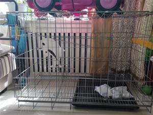 宠物笼子出售,买错了,我家猫进去就从洞洞出来了,适合养中大型犬,笼子挺大的,泰迪成犬放进去再放点吃的...