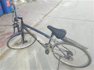 九成新的27速自行车