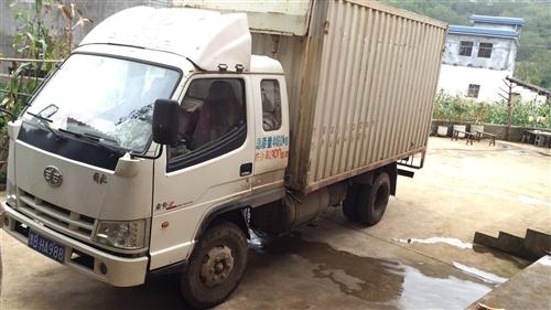 出售解放灞陵三国四排放4100发动机4米集装箱!