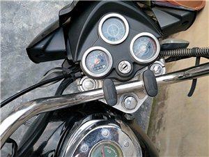 本人出售摩托车一辆  七成新  交易地址平凯