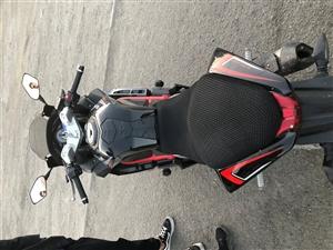 台荣GP一1双缸水冷电喷,好车看细节,想换cbr1000了,现在低价出售,骑了一个月零几天