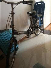 8成新自行车一辆,带娃娃坐椅120元