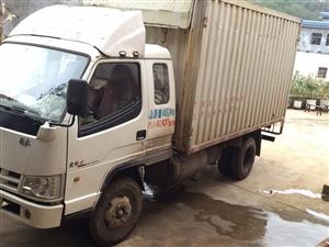 出售解放灞陵三14年5月上牌��四排放4米集�b箱�l��C4100!