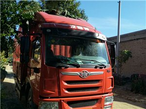 出售国四解放龙威6米8高栏,2015年2月份,干活中的车电话15226636480