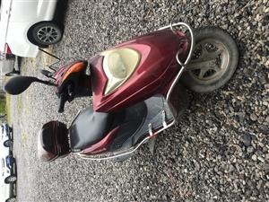 闲置摩托车一辆,欢迎前来试车议价