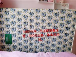 九九成新厚鬃床垫,1、5×2、0,现100元低价出售