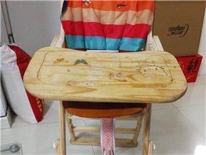 宝宝餐椅 纯木 免漆 可调节高度  科巢品牌   自取