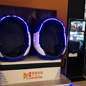 九龙广场魔镜互动VR游戏设备转让,一台拓普互动两人蛋椅,大显屏,内含30多款游戏。一台拓普互动三屏赛...