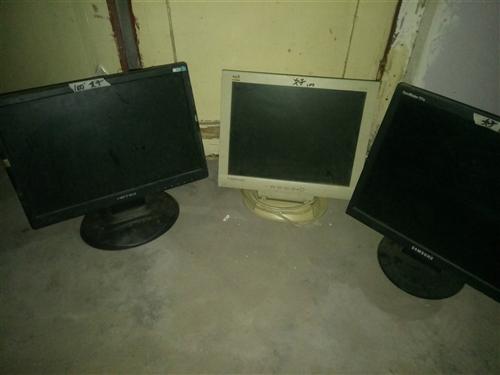 二手电脑显示器100元起出售,需要电联