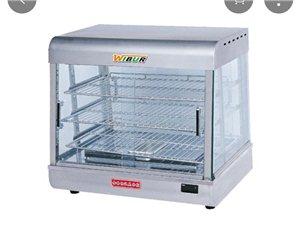 食物保温展示柜  蛋挞保温箱 九成新