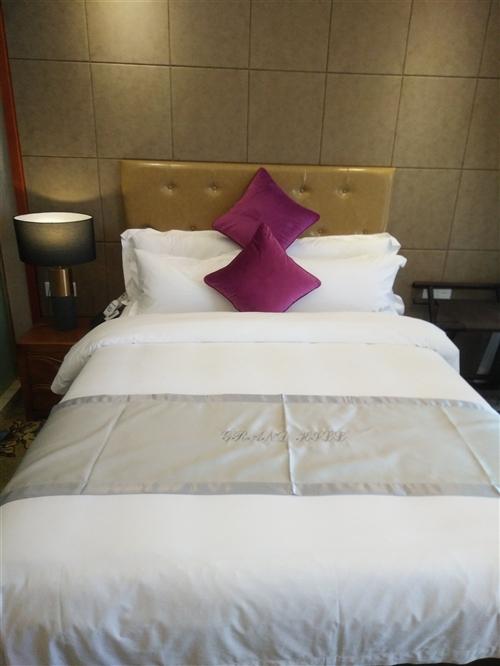 诚信批发全新,九成新宾馆布草,床架,床垫,空调,以上高价回收,价格面议