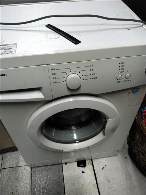 出售几个洗衣机,成色好,需要的赶紧来看,好货都在前面。