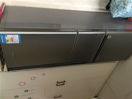 家里正用著的冰箱,沒有毛病,現特價處理!撿到就是賺到喲!