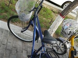 买了电动车,自行车没用了,送U型锁,原价400,用了一年,现100元拿走,